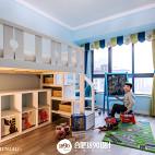 童趣简约风格儿童房效果图