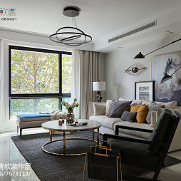 潮流现代风格客厅设计