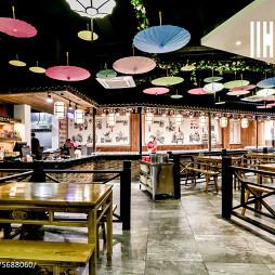 中国风快餐厅设计