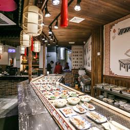 中国风快餐厅装修