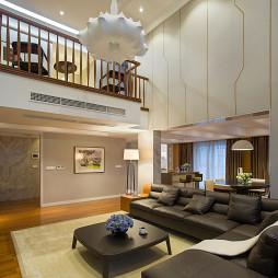 现代风格楼中楼客厅设计