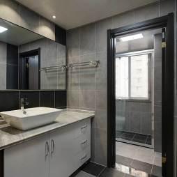 简约风格灰色系卫浴