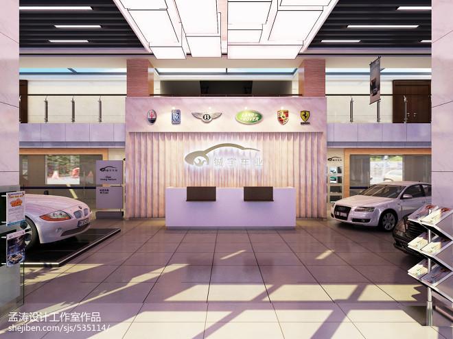 进口车4s店装修设计-阿城4s店设计