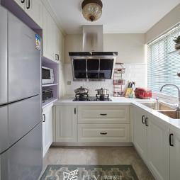 法式白色厨房装修