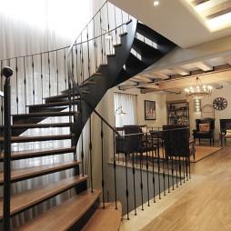 铁艺别墅楼梯