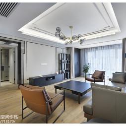 中式客厅装修吊顶效果图