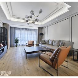 中式客厅天花效果图