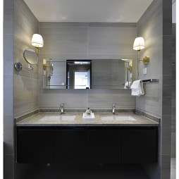 现代中式卫浴柜