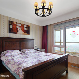 现代简约卧室图