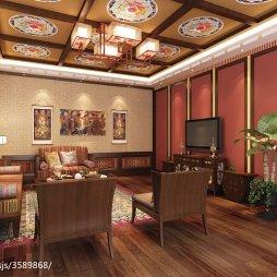 藏式风格居住空间全套_2657443