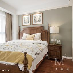 美式卧室图