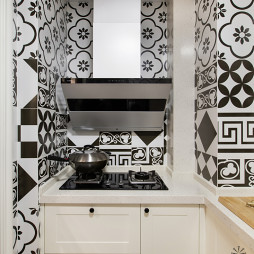 美式厨房花砖设计