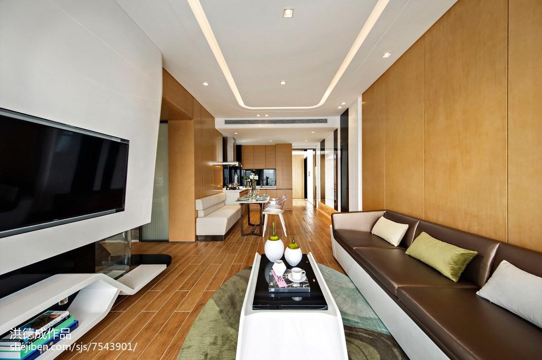 现代客厅吊顶