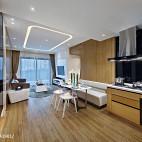 【DHA 香港洪德成设计】新作样板房:时尚个性 沐风体验_2659576