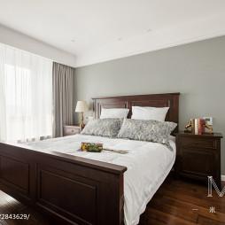 复古美式卧室