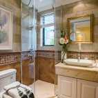 地中海风格样板间淋浴房