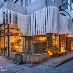 甘蓝咖啡店外观