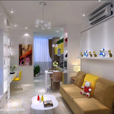 25平方单身公寓改造方案_2671019