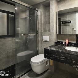 卫浴玻璃推拉门