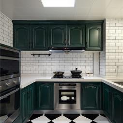 混搭风格厨房马赛克瓷砖