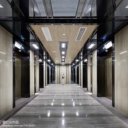办公会所过道吊顶设计