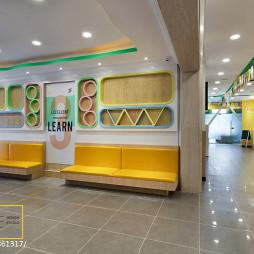 儿童早教机构装饰墙