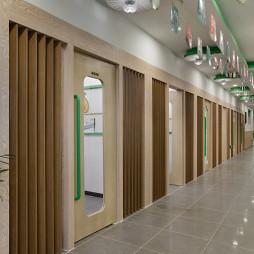 儿童早教机构教室门