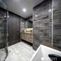 现代卫浴墙面装饰