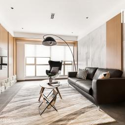 现代风格客厅射灯