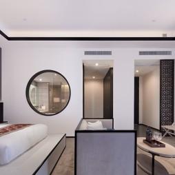 苏州建屋国际酒店卧室装修