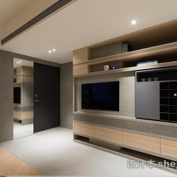 现代风格整体电视柜