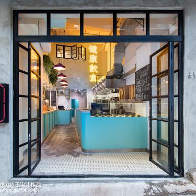港式茶餐厅入户门