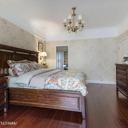 美式卧室墙纸