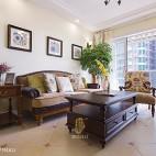 美式客厅挂画装饰