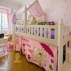 粉色系儿童房