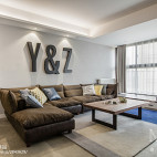 客厅沙发装饰图