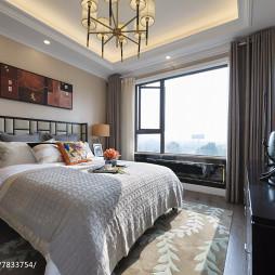 现代样板房卧室