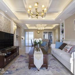 清新美式客厅装饰
