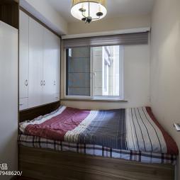 榻榻米卧室图