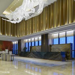 金鹰尚美酒店大厅设计
