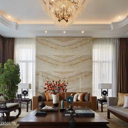 中西混搭客厅装饰