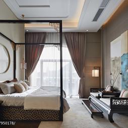 中西混搭卧室设计