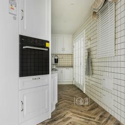 厨房木地板拼花