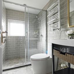 卫浴玻璃隔断门