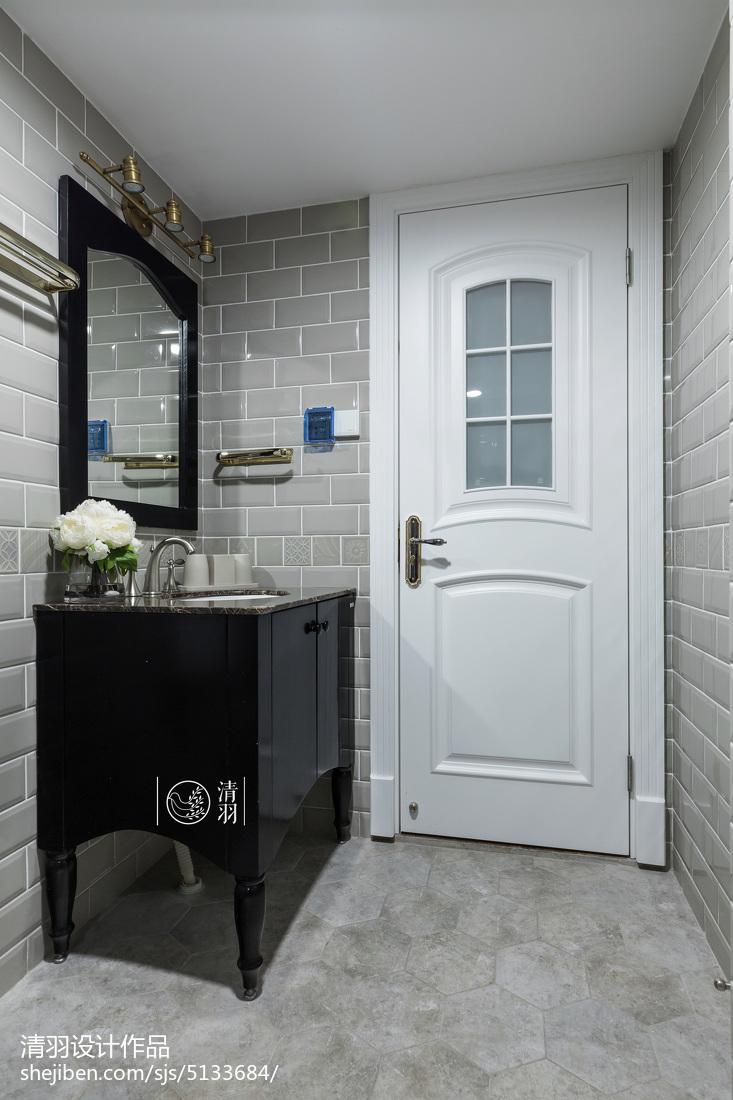 卫浴黑色浴柜