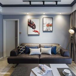 沙发背景墙挂画