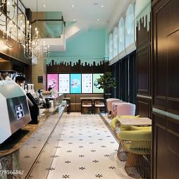 法式咖啡厅设计
