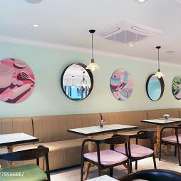 浪漫咖啡厅设计