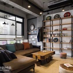 LOFT风格客厅装饰