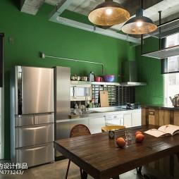 LOFT风格餐厅带厨房